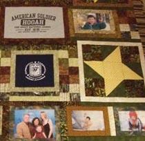 Sgt Rhys Klasno Memorial Quilt
